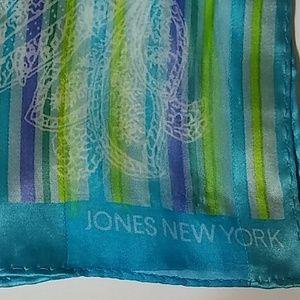 Jones New York Scarf blue purple